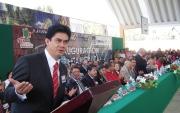 El presidente municipal de Tultitlán, Marco Antonio Calzada Arroyo (Foto: aquíEcatepec)