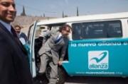 El candidato del Panal, Gabriel Quadri, en campaña. Foto: tomada de PROCESO