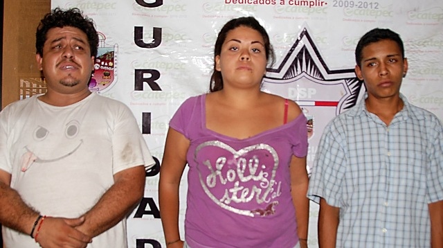 Capturan a siete delincuentes en ciudad azteca en for Jardin 7 hermanos ecatepec