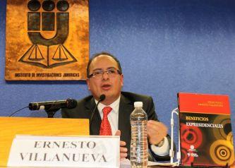 El especialista en asuntos de transparencia y libertad de expresión e investigador del Instituto de Investigaciones Jurídicas de la UNAM, Ernesto Villanueva. Foto: Difunet