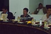 """""""La reducción de subsidios a SAPASE y que se transfiera a Programas de Seguridad Pública, es importante, sin embargo, nos deberíamos plantear cumplir con todos los requisitos para seguir conservando los fondos del Subsemum"""", apuntó Méndez Bello. Foto: Especial"""