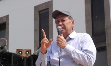 El diputado federal Jesús Tolentino Román Bojorquez dijo que ésta no es la segunda marcha que hace el Movimiento Antorchista sino la cuarta.