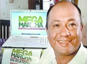 Marco Barrientos, de Ecatepec Unido. Foto: Tomada de Milenio