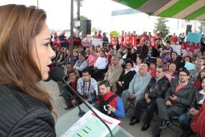 Sin duda mejorará la comunicación en nuestro municipio, dijo la alcaldesa Sandra Méndez. Foto: C.S.