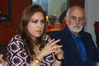 La alcaldesa Sandra Méndez señaló que ya están trabajando para generar las condiciones que perfilen a Tultitlán como una opción de inversión. Foto: C. Social