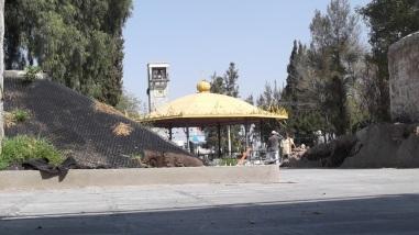 Vista desde la parte frontal de la alcaldía de Ecatepec. Foto: Jorge Villa