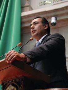 El diputado Octavio Martínez también presentó la propuesta para que el nombramiento del Secretario de Finanzas sea a través de la figura de coalición. Foto: DGCS