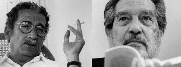 Jaime Sabines y Octavio Paz. Fotos: Internet