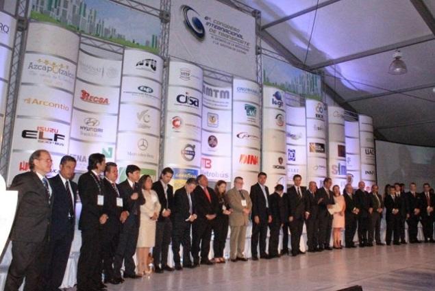 Fue inaugurado el 6o. Congreso Internacional del Transporte que organiza la AMTM con la participación de expertos de 12 países de América Latina y Europa. Fotos: DIFUNET