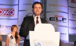 Jesús Padilla Zenteno, presidente de la Asociación Mexicana de Transportes y Movilidad, organizadora del evento.