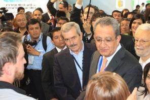 Rodrigo Alejandro Nieto Enríquez, subsecretario de Desarrollo Urbano y Vivienda de SEDATU, participó en la inauguración también de la Expoferia del Transporte.