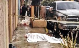 Desde un auto fueron rafageados. Foto tomada de Reforma