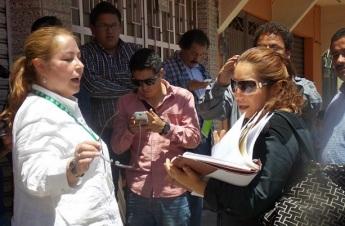 La directora de Asuntos Jurídicos del gobierno de Texcoco Magdalena Moreno Vega denunció