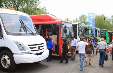 Fueron presentadas varias unidades de lo último en tecnología del transporte