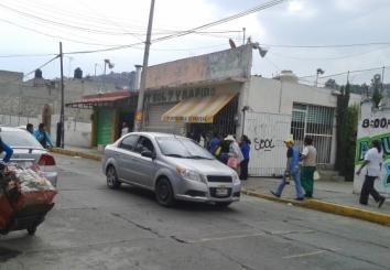 Lugar sobre la calle Morelos en donde se desató una balacera la madrugada de este sábado; está ubicado a dos cuadras del deportivo municipal Bicentenario. Foto: Jorge Villa