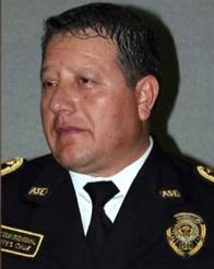 El director de la policía estatal Rogelio Cortes Cruz en imagen de internet