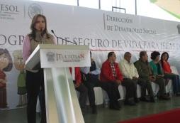 La alcaldesa Sandra Méndez Hernández reconoció el trabajo que está haciendo el gobierno federal