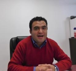 El asistente y regidor suplente, Aarón Torices Martínez, pidió el ingreso de otra persona para sustituir al ahora denunciante. Foto: Jorge Villa