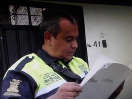 Miguel Ángel Álvarez López  aparece como el presunto agresor: Fotos: Video