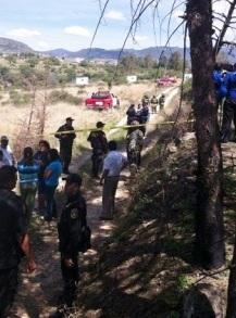 Cuerpos de seguridad resguardan las áreas del ejido. Foto: Reporteros en Movimiento