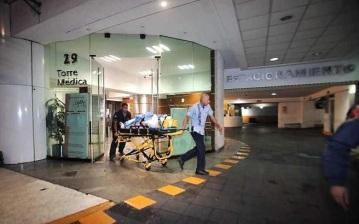Montalvo Hernández fue ingresado al Hospital Dalinde en el Distrito Federal. Foto tomada de Reforma