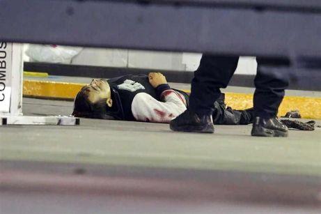 Aquí terminó luego del enfrentamiento con un policía al que hirió. Fotos tomadas de Reforma