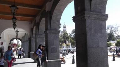 Vista desde el palacio municipal de Tultepec. Foto: Archivo Jorge Villa