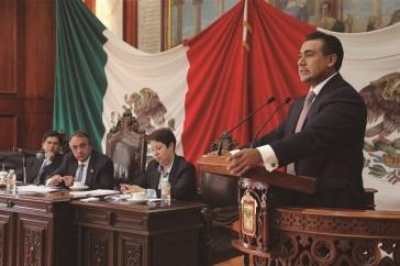 El diputado Octavio Martínez Vargas pide que  sea el Congreso el que nombre al Consejo Ciudadano. Fotos: CSPRD
