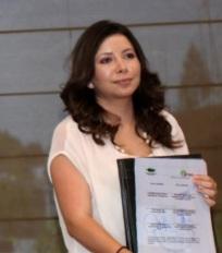Delegada federal de la Condusef en la entidad, Silvia Fernández Martínez. Foto: Especial