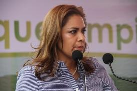 Alcaldesa de Tultitlán, Sandra Méndez. Foto: CST