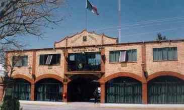 Palacio municipal de Jaltenco en cuyo interior se encuentra la oficina de Policía. Foto: Archivo