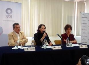 Al centro, la actriz Blanca Guerra. Foto: alterarte69.blogspot.mx