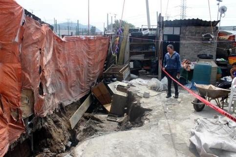 Vivienda de la familia Martínez en San Pedro Xalostoc. Foto: Tomada de Reforma