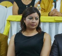La octava regidora del ayuntamiento local, Susana Roberta García Esparza, hizo pública su renuncia al PRI este lunes. Foto: CSFPI
