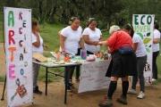 Cientos de familias se dieron cita en la Sierra de Guadalupe para conocer más acerca de la hidroponía. Foto: C. S.