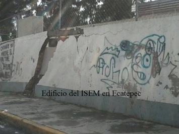 El deterioro está certificado por Protección Civil. Fotos: Especial