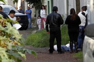 Noche violenta con tres muertes anoche en dos colonias. Foto: Tomada de Reforma