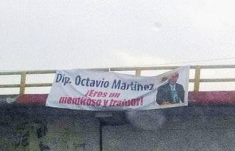 """Legislador responsabiliza de """"guerra sucia"""" al alcalde de Ecatepec, Pablo Bedolla y al PRI local. Foto: CSFPI"""