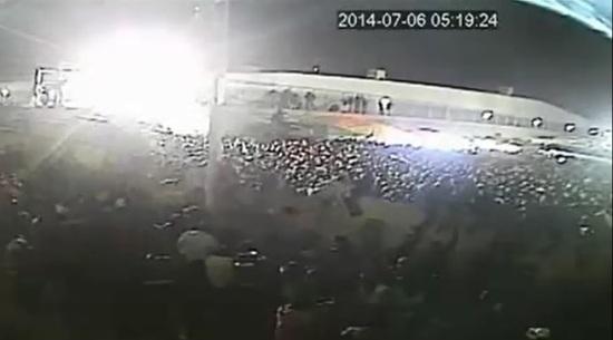 Videograma de las escenas del