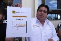 Logo de la fórmula de Vanguardia Progresista y el candidato  Consejero Estatal, Roberto Montañez Soto
