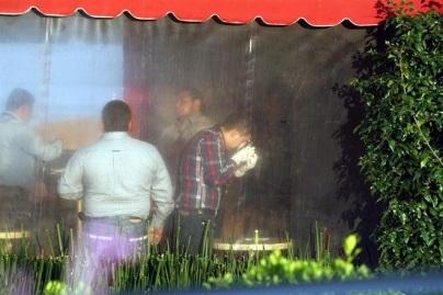 fue ejecutado de cuatro balazos dentro de las instalaciones de la cafetería Tasty Coffee, ubicada sobre la Vía Magna.