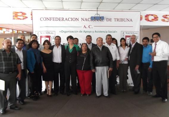 Comité Ejecutivo de Ecatepec de la Confederación Nacional de Tribuna, A.C., Rafael Barrientos Reyes,