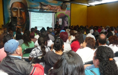 La cultura de la donación de órganos es parte de las actividades que se efectúan con líderes sociales de Ecateoec. Fotos: CSOMV