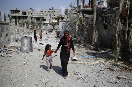 Denuncia la UNICEF la muerte de 392 niños en Gaza. Foto de Reuters tomada de El Financiero