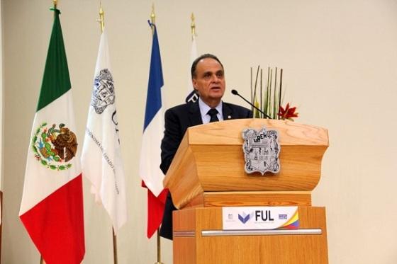 La FUL se posiciona en la sociedad hidalguense y como un referente regional, nacional e internacional, estimó el Rector Humberto Veras Godoy. Fotos: Difunet