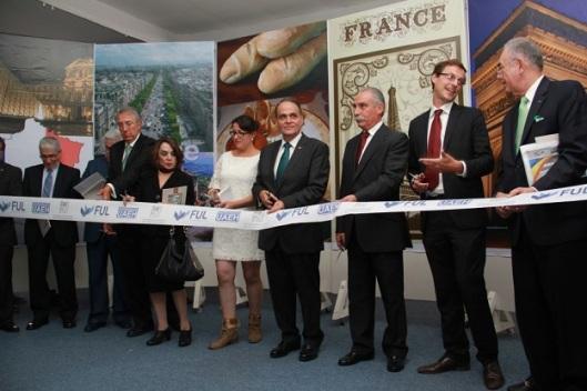 Inauguración del pabellón dedicado a Francia, país invitado en este 2014. Fotos: Difunet