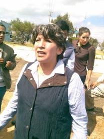 Delfina Insistió en que como alcaldesa sus funciones son para salvaguardar y controlar el crecimiento urbano, además de velar por el medio ambiente de la región