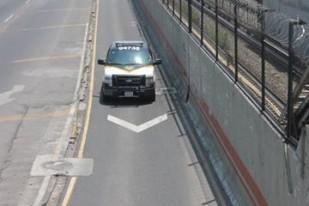 Carril confinado al Mexibus. Fotos: RAH