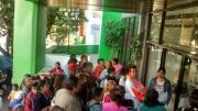 La regidora y los vecinos se trasladaron a las oficinas de la Comisión de Agua del Estado de México ubicadas en el municipio de Naucalpan. Foto: CSSG