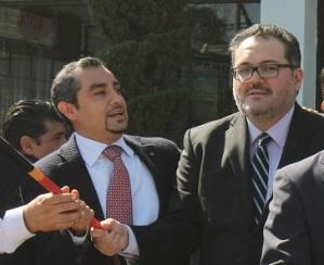 El diputado Isidro Moreno Árcega y el síndico Josué Cirino Valdéz son denunciados por promover tortillerías ilegales. Foto: Archivo